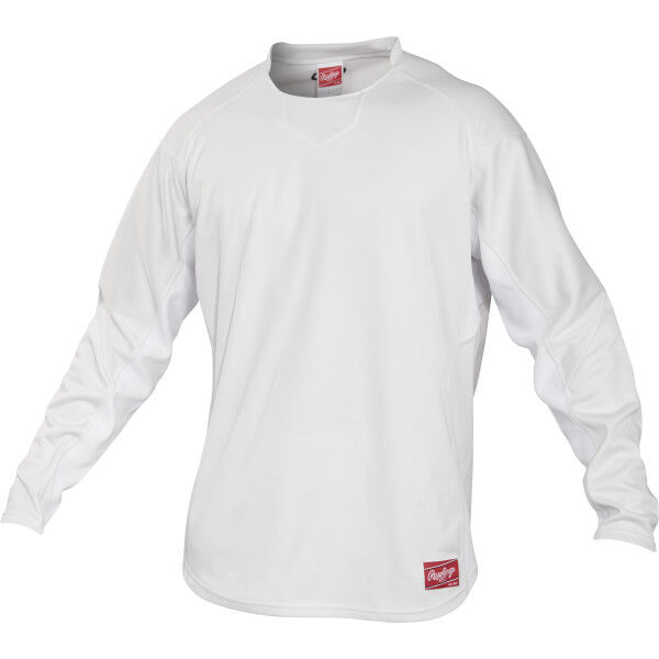 Youth Long Sleeve Shirt White