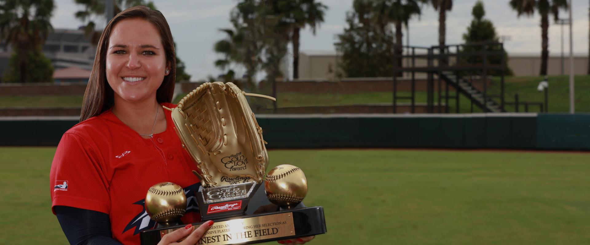 Softball Gold Glove Award