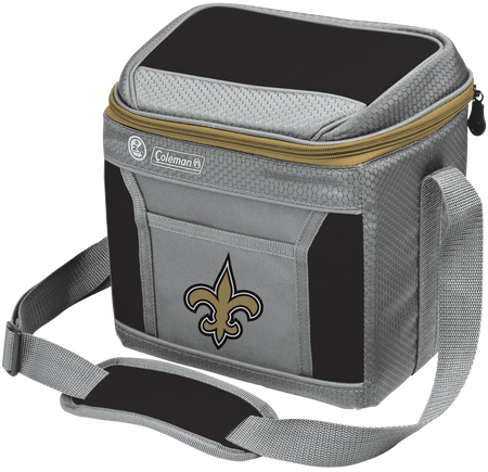 NFL New Orleans Saints 9 Can Cooler