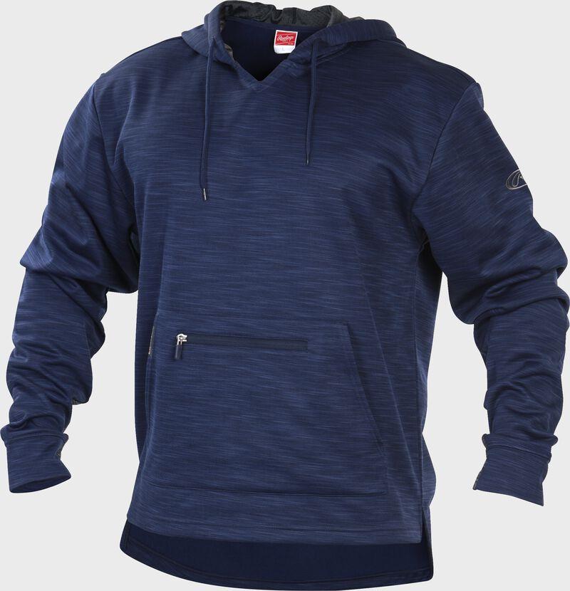 PFH2 Navy Rawlings performance fleece hoodie