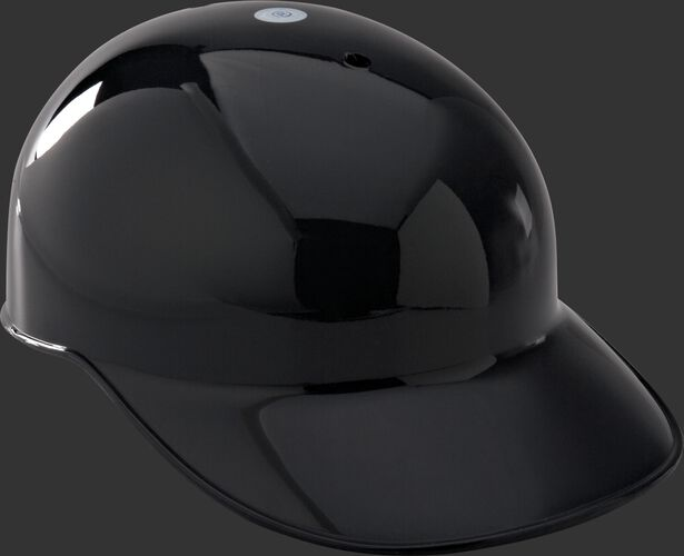 A black PBHP Adult traditional catcher's helmet