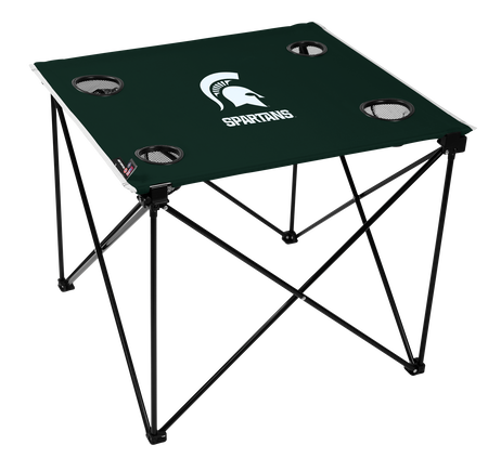 NCAA Michigan State Spartans Deluxe Tailgate Table