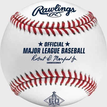 MLB 2021 Los Angeles Angels 60th Anniversary Baseball