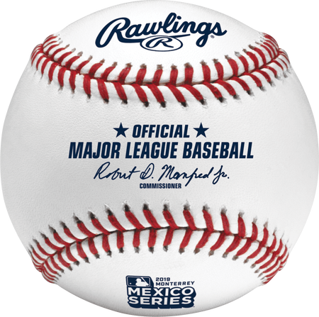 Official 2019 MLB® Mexico Series™ On-Field Baseball