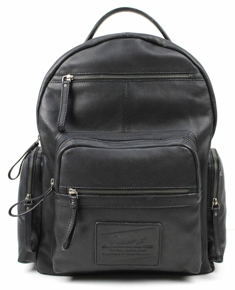 Rugged Backpack   Black
