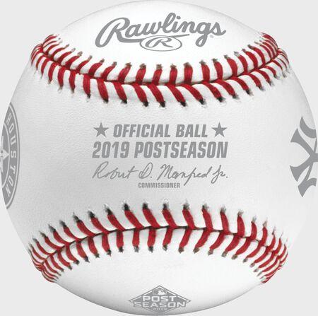 MLB 2019 American League Championship Series Dueling Baseball