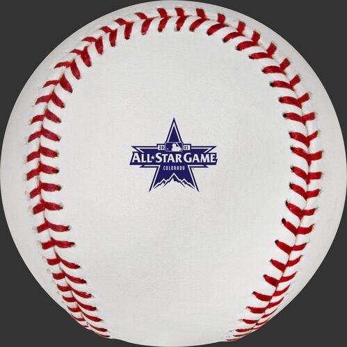 2021 All Star game logo on a Major league baseball - SKU: EA-ASBB21CR-R