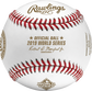 The official ball stamp on a WSBB19CHMP 2019 Washington Nationals World Series Champions baseball image number null