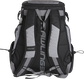 Back of a R1000 Rawlings Gold Glove Series equipment backpack with gray shoulder straps  image number null