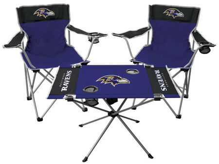 NFL Baltimore Ravens 3-Piece Tailgate Kit