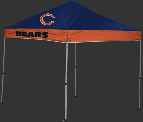 Rawlings Navy and Orange NFL Chicago Bears 9x9 Canopy Shelter With Team Logo and Name SKU #03231062111