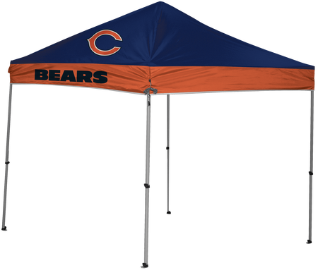 NFL Chicago Bears 9x9 shelter with 4 team logos