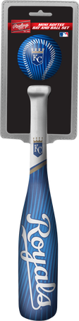 MLB Kansas City Royals Slugger Softee Mini Bat and Ball Set