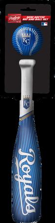 MLB Kansas City Royals Slugger Softee Mini Bat and Ball Set