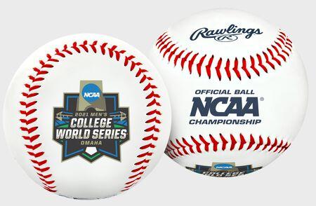 2021 NCAA College World Series Replica Baseball