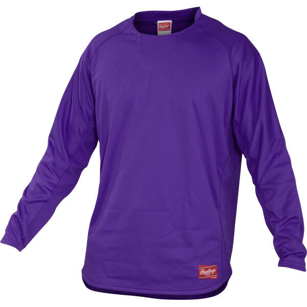 Adult Long Sleeve Shirt Purple