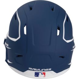 Mach Senior Two-Tone Matte Helmet with EXT Flap Navy