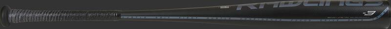 Black barrel of a 5150 BBCOR bat with black batting grip - SKU: BB153