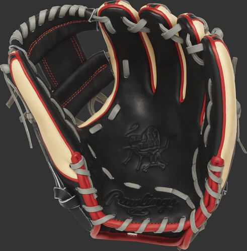 PROR314-2B Heart of the Hide R2G glove with a black palm