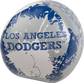 Rawlings Los Angeles Dodgers Quick Toss 4'' Softee Baseball With Team Name On Front In Team Colors SKU #01320011112 image number null