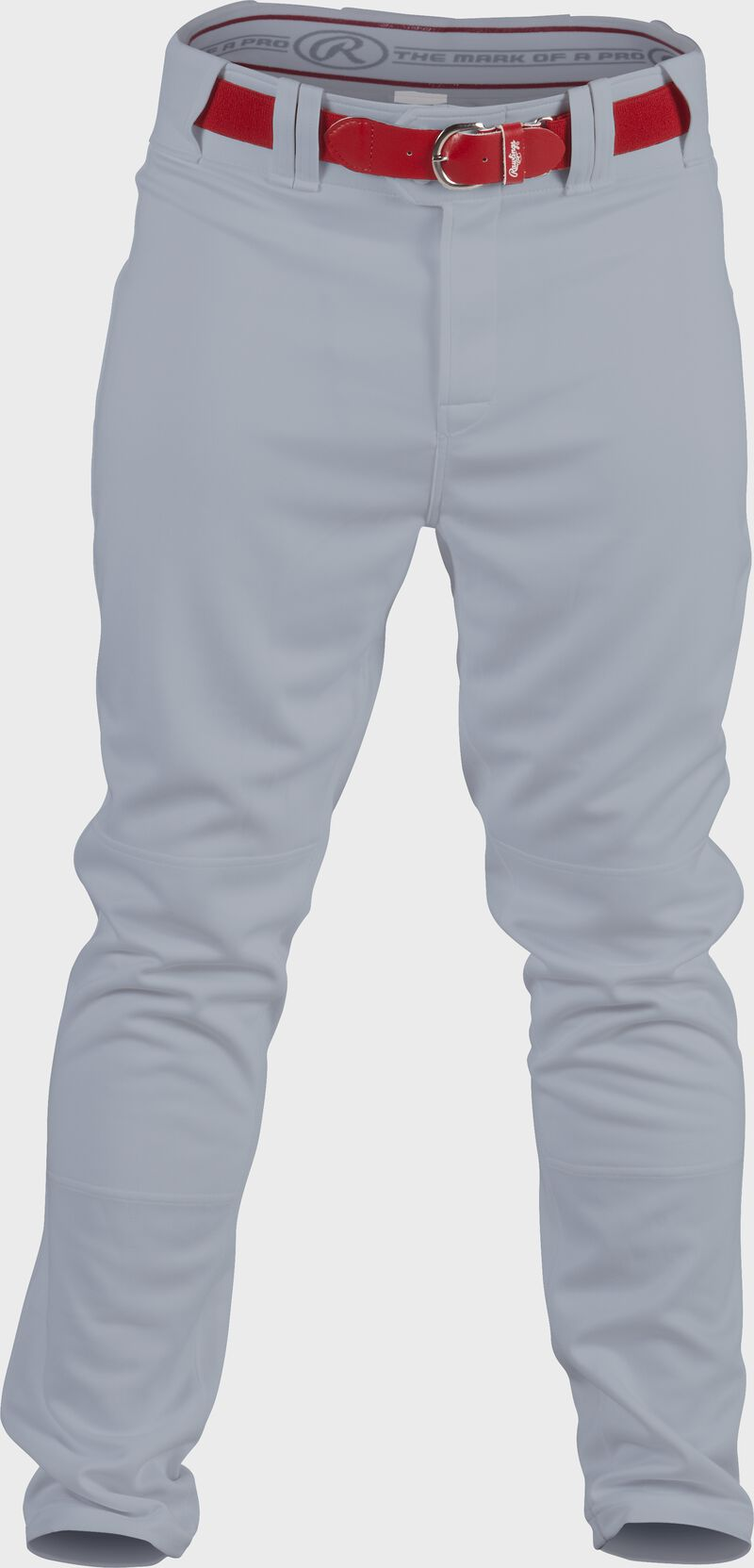 Front of Rawlings Blue Gray Adult Semi-Relaxed Pant - SKU #PRO150
