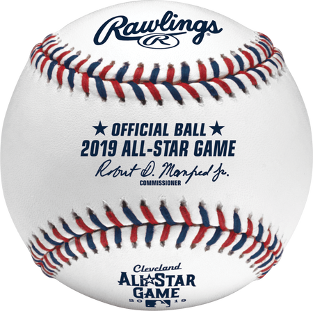 ASBB19 Rawlings Official MLB 2019 All-Star Game ball