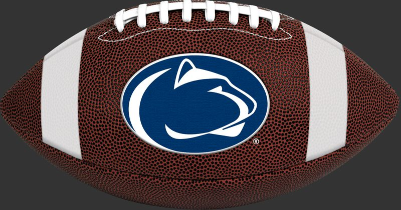 Brown NCAA Penn State Nittany Lions Football With Team Logo SKU #04623050811