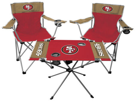 NFL San Francisco 49ers 3-Piece Tailgate Kit