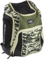 Right angle view of a camo Rawlings Legion backpack - SKU: LEGION-CAMO image number null