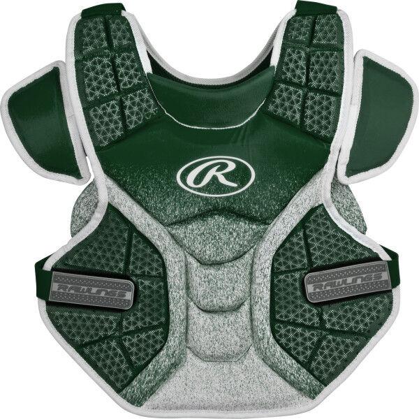 Velo Adult Softball Chest Protector Dark Green