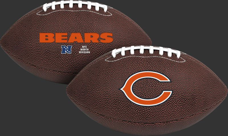 NFL Chicago Bears Air-It-Out youth football with team logo and team name SKU #08041062121
