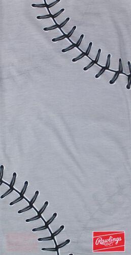 A gray stitch Rawlings multi-use neck gaiter - SKU: RC40001-020