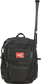 A black CEO coach's backpack with a bat in the side sleeve on one side - SKU: CEOBP-B image number null
