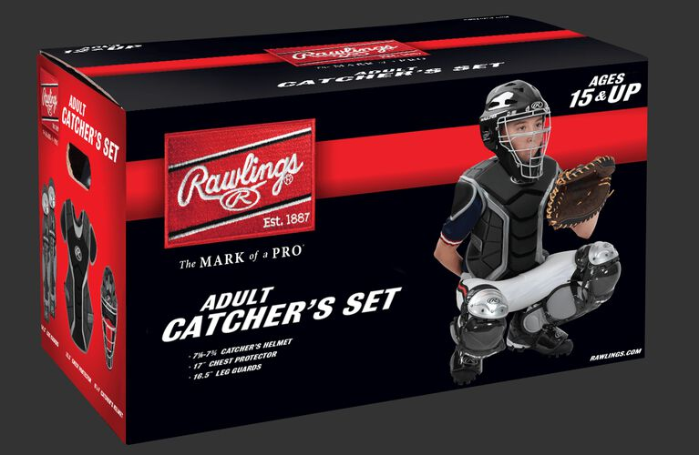 Renegade Adult Catchers Set Scarlet
