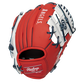 Back of a red Los Angeles Angles 10-Inch I-web glove - SKU: 22000001111 image number null