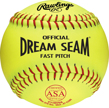 "ASA NFHS Official 11"" Softballs"