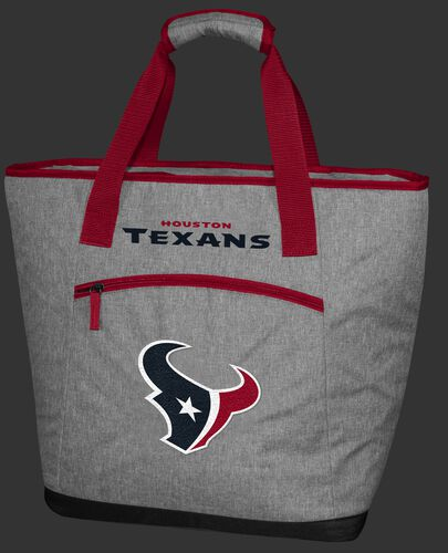 A Houston Texans 30 can tote cooler with an embroidered team logo on the front - SKU: 10311093111