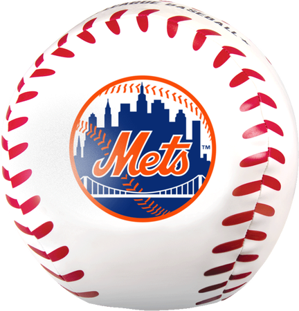 MLB New York Mets Big Boy 8 in Softee Baseball