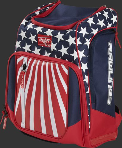 Front angle view of a USA Legion equipment backpack - LEGION-USA