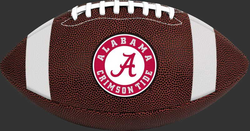 Brown NCAA Alabama Crimson Tide Football With Team Logo SKU #04623066811