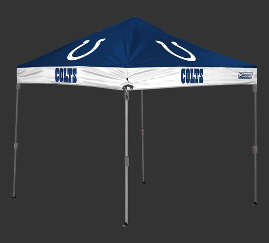 Rawlings Blue and White NFL Indianapolis Colts 10x10 Canopy Shelter With Team Logo and Name SKU #03221070111