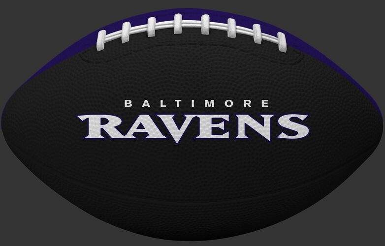 Black side of a Baltimore Ravens Gridiron tailgate football