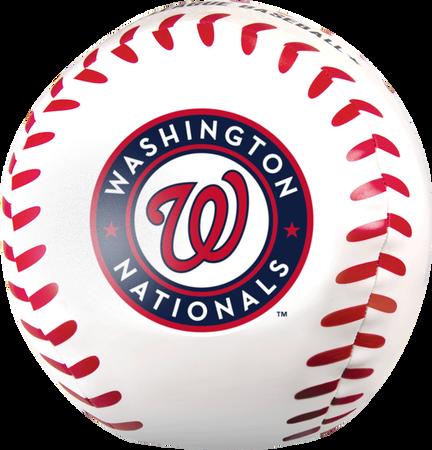 MLB Washington Nationals Big Boy 8 in Softee Baseball