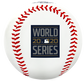 The 2020 World Series logo stamped on a replica baseball - SKU: 35010032282 image number null
