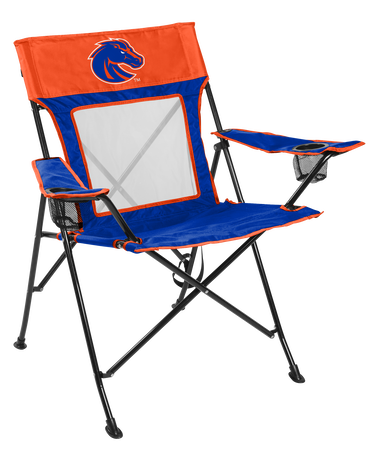 NCAA Boise State Broncos Game Changer chair with the team logo