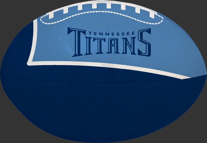Navy and Blue NFL Tennessee Titans Football With Team Name SKU #07831069114
