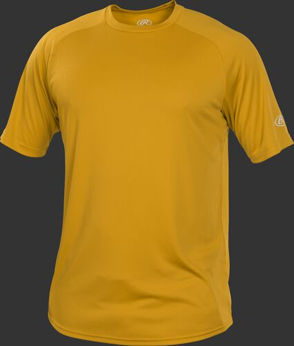 RTT Light Gold Adult crew neck short sleeve jersey