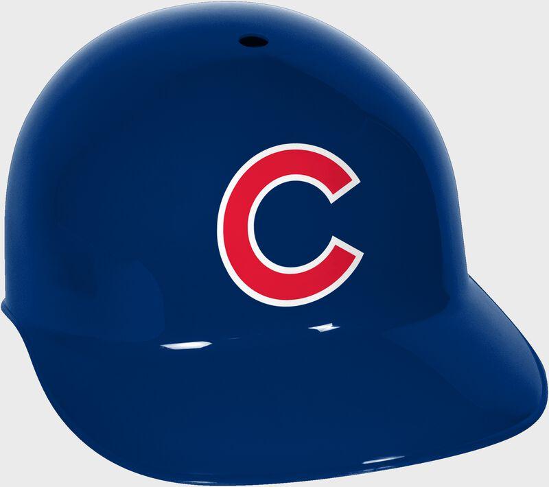 A blue MLB Chicago Cubs replica helmet - SKU: 01950008111