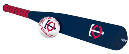 MLB Minnesota Twins Foam Bat and Ball Set
