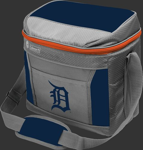 Rawlings Detroit Tigers 16 Can Cooler In Team Colors With Team Logo On Front SKU #03140027111